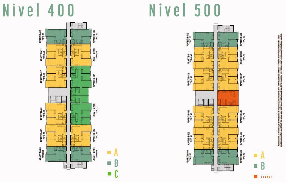 Nivel 400 y 500