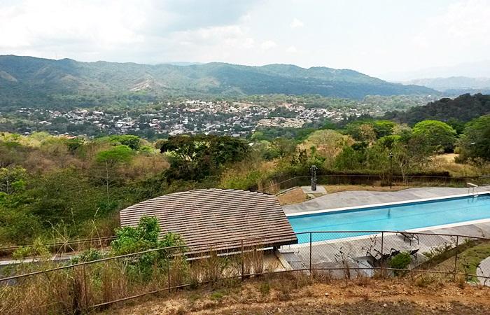 Lote de 1,209m con vista en Condo Hacienda Los Bambúes