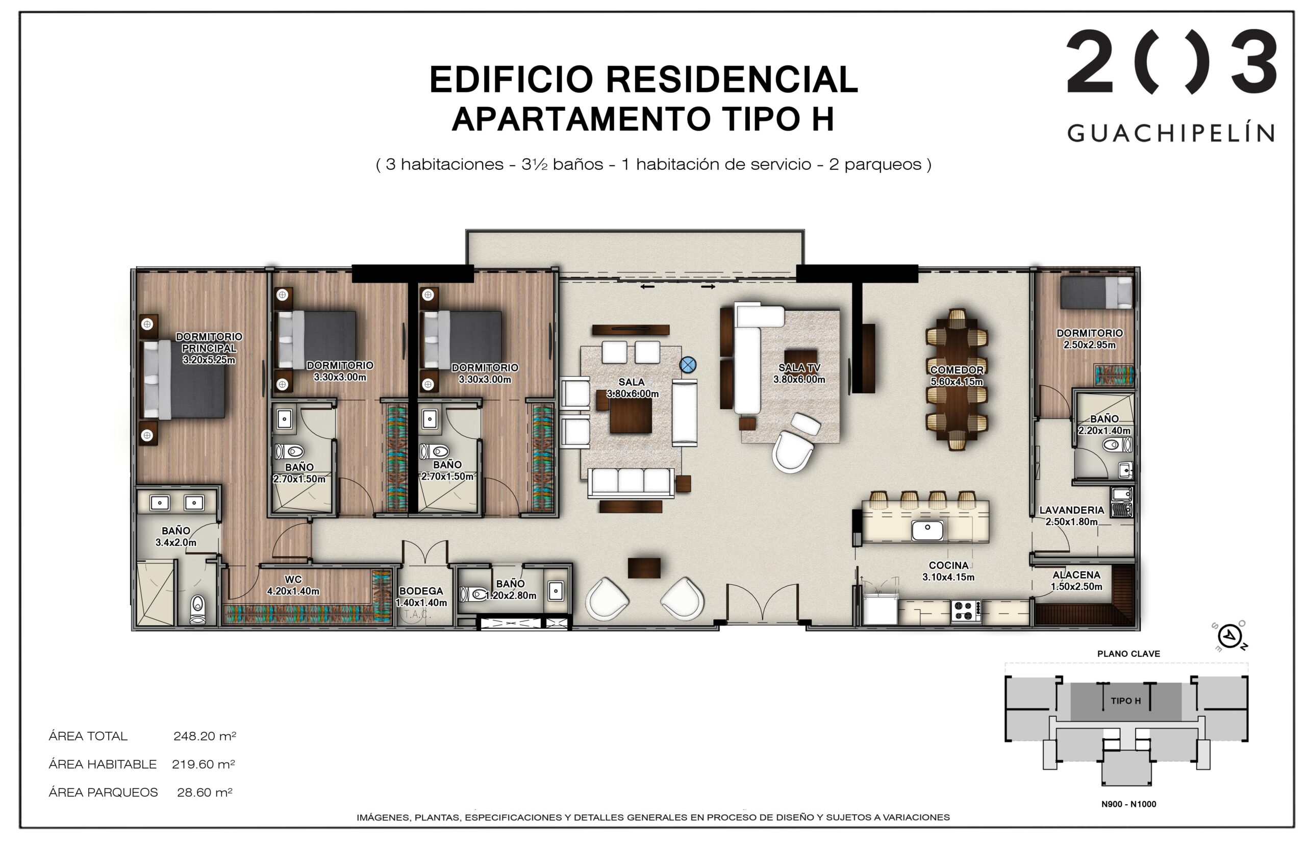 LAYOUT PENTHOUSE H