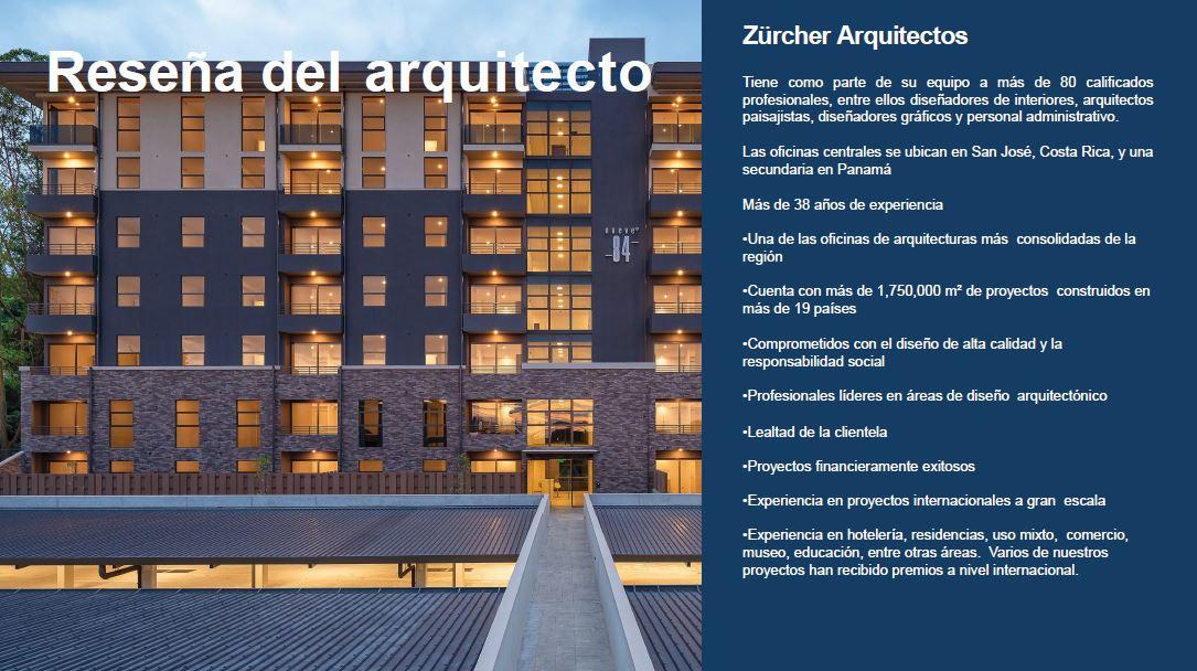 Reseña del Arquitecto